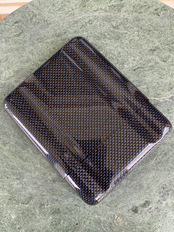 Blue Kevlar Carbon Fiber 5 Cigars Case