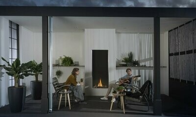 Element 4 Sky O Outdoor Gas Fire