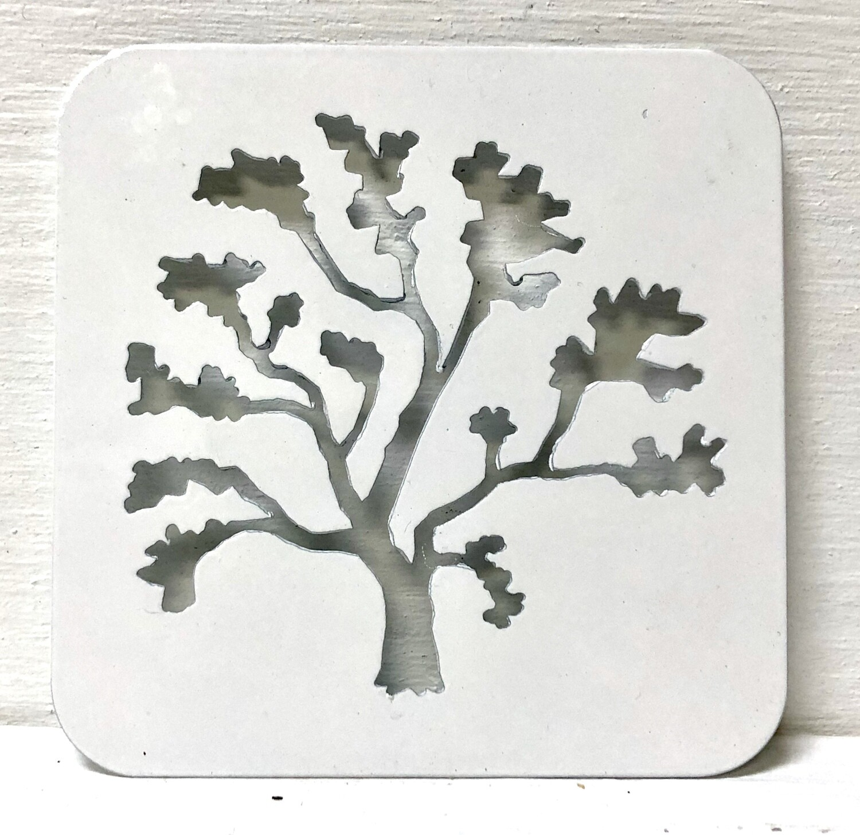 Arbutus Tree Laser Cut Coaster