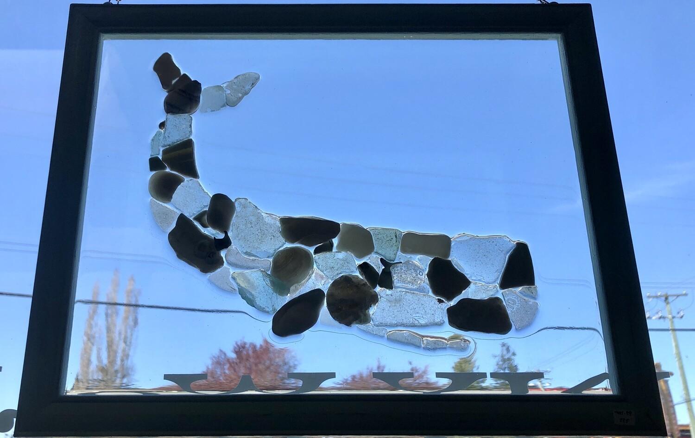 Sea Glass Whale