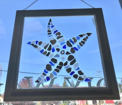 Sea Glass Star Fish
