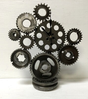 Gear Head Clock