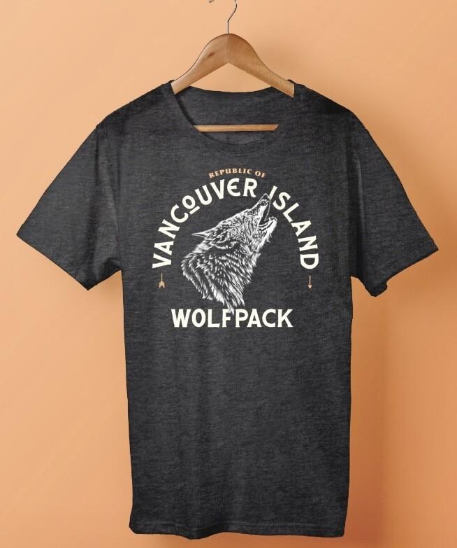 Republic Of Vancouver Island Wolf Logo