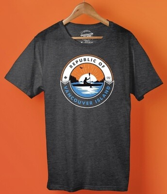 Republic Of Vancouver Island Kayak Logo