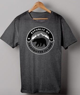 Republic Of Vancouver Island Bear Logo