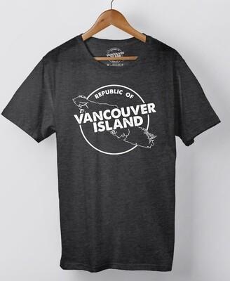 Republic Of Vancouver Island Circle Logo