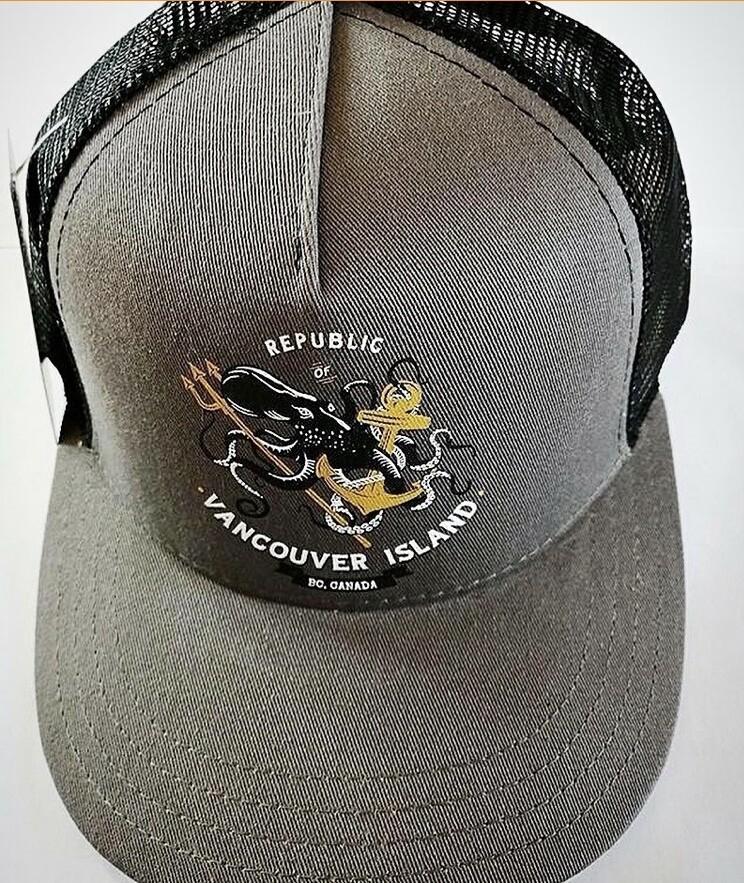 Republic Of Vancouver Island Anchor Logo