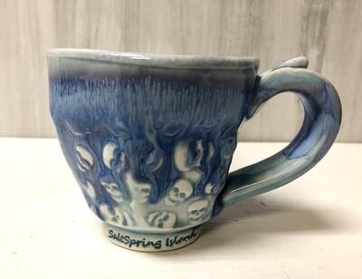 Blue Skull Mug