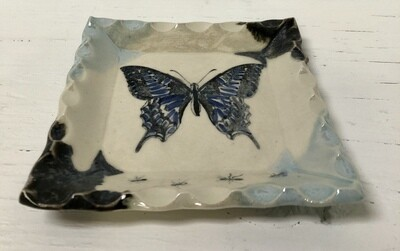 Sushi Plate/W Butterfly
