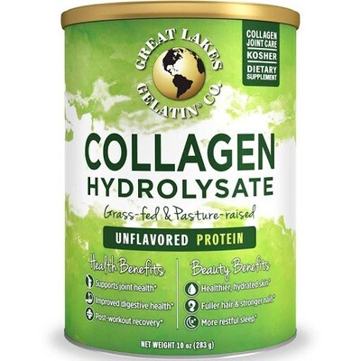 Great Lakes Collagen Hydrolysate 10oz