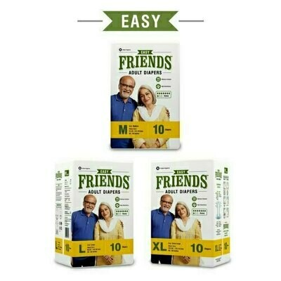 Friends Disposable Adult Diapers Easy