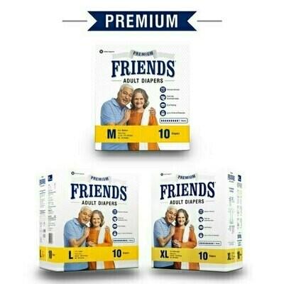 Friends Disposable Adult Diapers Premium