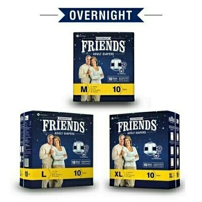 Friends Disposable Adult Pant Diapers Overnight