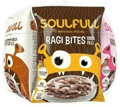 Soulfull Ragi Bites Combo pack (210GM) x 2 Nos