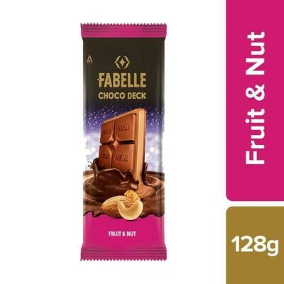 Fabelle Fruit and Nut Choco Deck Bar 58 g