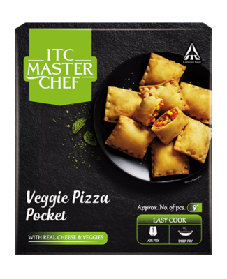 ITC Master Chef Veggie Pizza Pocket