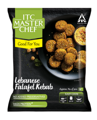 ITC Master Chef Lebanese Falafel Kebab