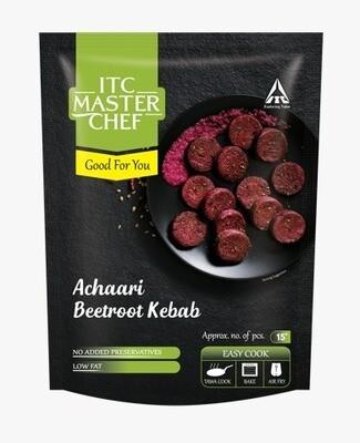 ITC Master Chef Achaari Beetroot Kebab