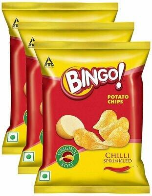 Bingo Yumitos Original Style, Chilli Sprinkled, (Pack of 3 x 138gm each)