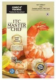 ITC Master Chef Jumbo+ Prawns 200gm Approx