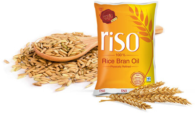 Riso Refined Rice bran Oil 1ltr