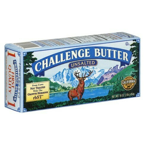 Butter Unsalted Challenge (1 lbs)