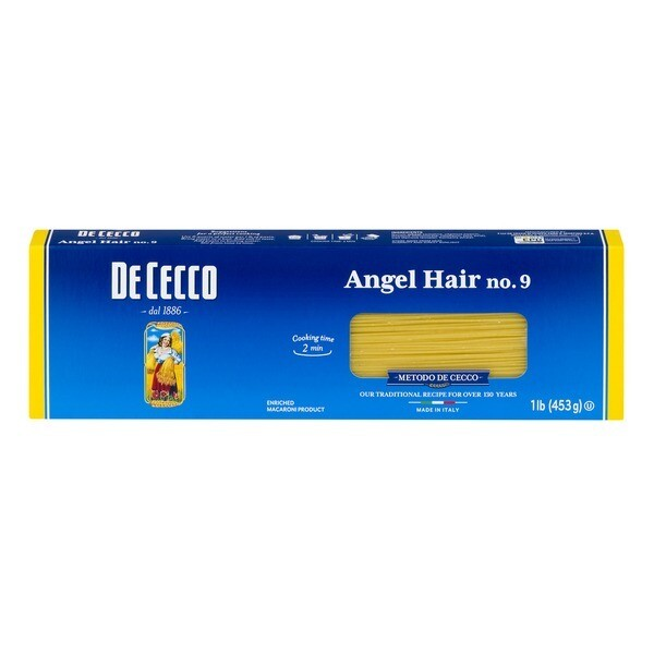 Pasta De Cecco Angel Hair (5 lbs Bag)