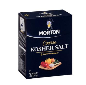 Salt Kosher Morton (3lbs)