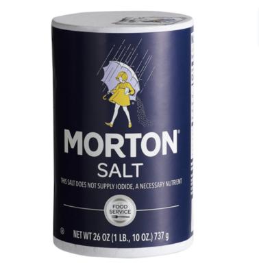 Salt Iodized Morton (26oz)