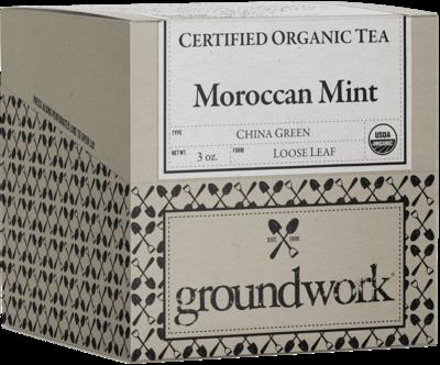 Moroccan Mint Organic (¼ lbs)