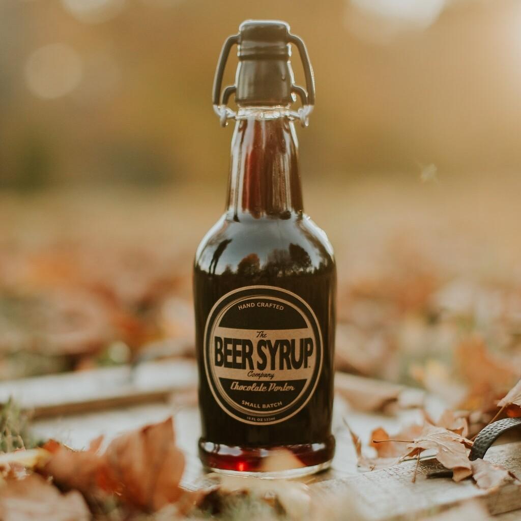 Beer Syrup Glass Bottles