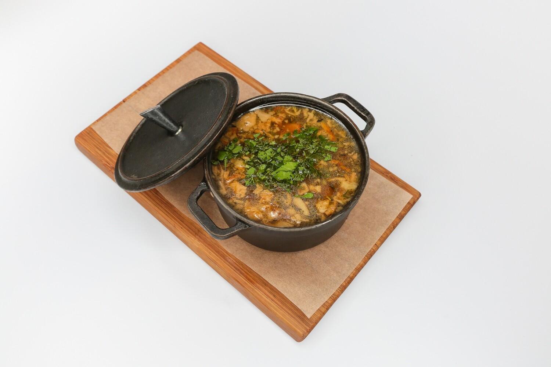 Густой мясной суп Auld Reekei