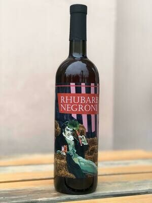 Фирменный бутылированый коктейль Rhubarb Negroni  (0,75)