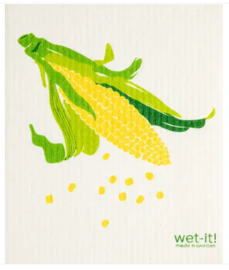 Wet-It Corn Swedish Dishcloth