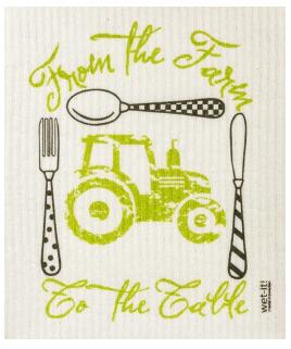 Wet-It Farm To Table Swedish Dishcloth