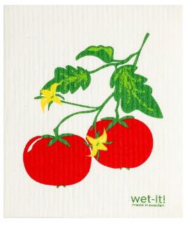 Wet-It Tomatoes Swedish Dishcloth