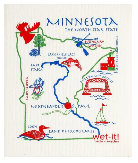 Wet-It Minnesota Swedish Dishcloth