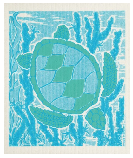 Wet-It Turtle Swedish Dishcloth