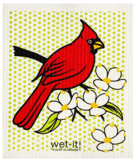 Wet-It Cardinal Swedish Dishcloth