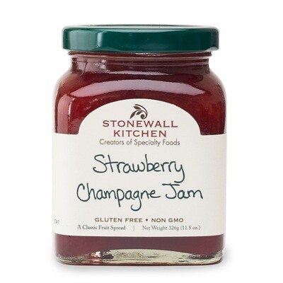Stonewall Kitchen Strawberry Champagne Jam
