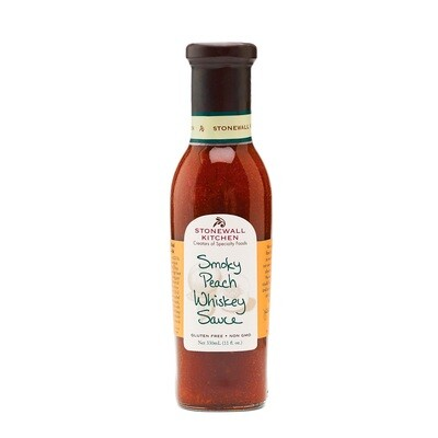 Stonewall Kitchen Smoky Peach Whiskey Sauce