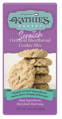 Kathie's Bakery Scratch Oatmeal Shortbread Mix