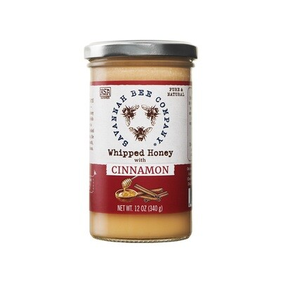 Savannah Bee Co Whipped Honey - Cinnamon