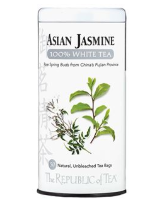 The Republic of Tea - Asian Jasmine White
