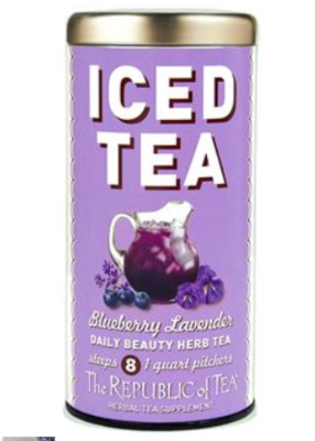 The Republic of Tea - Blueberry Lavender Iced