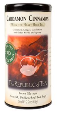 The Republic of Tea - Cardamon Cinnamon Herbal