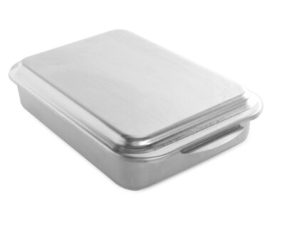 Nordic Ware Naturals 9x13 Cake Pan with Metal Lid