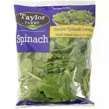 Spinach, Calif. Flat 4/2.5lb.