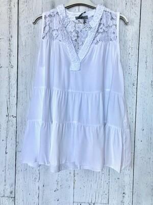 Cotton Lace Sleeveless