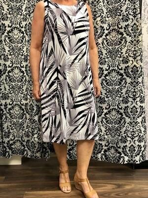 Knitted Palm Dress
